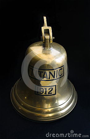 Free Titanic Bell Stock Image - 24350151