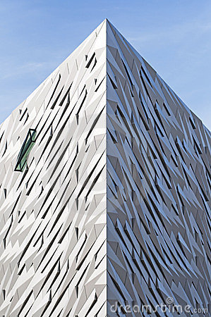 The Titanic Centre, Belfast Editorial Stock Image
