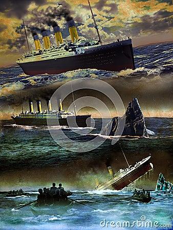 Titanic on grunge