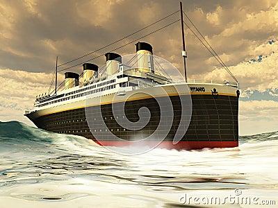 Titanic Ocean-Liner
