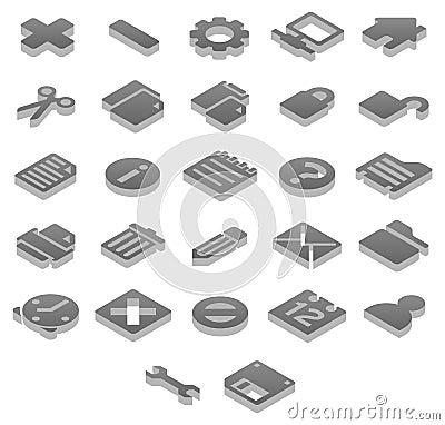 Titanium icons Basic