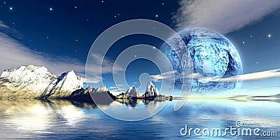 Titanium moon
