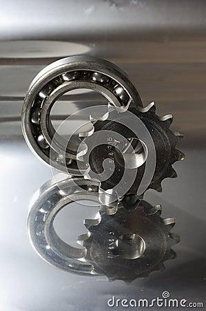 Titanium and steel image