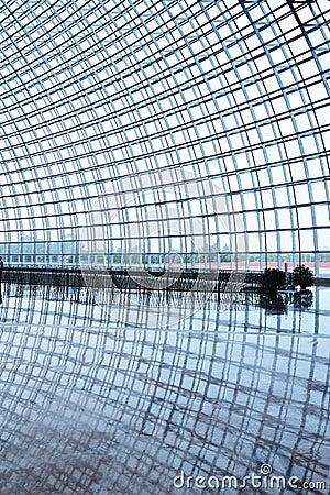 Titanium structure  in the  National Grand Theatre Editorial Image
