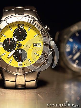 Free Titanium Watches Royalty Free Stock Photos - 2253918