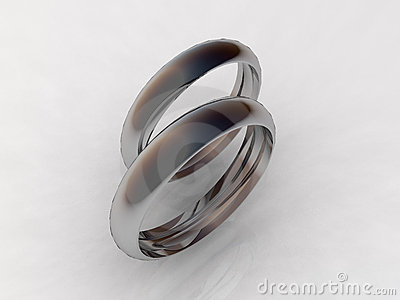 Titanium wedding bands - fine jewelry