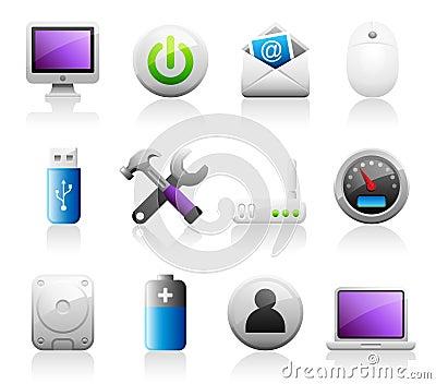 Titaniun computer icons