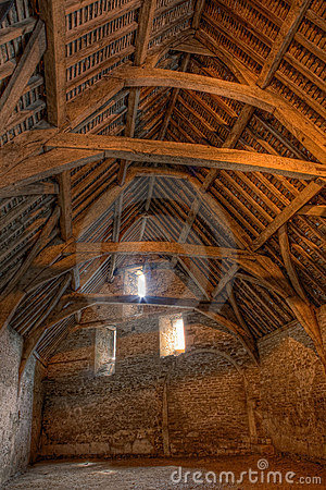 Free Tithe Barn Royalty Free Stock Image - 17157746