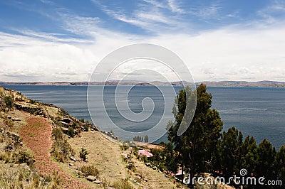 Titicaca lake, Peru, Taquile island