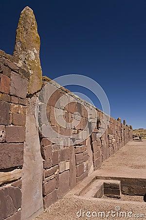 Tiwanaku Pre-Columbian site - Bolivia