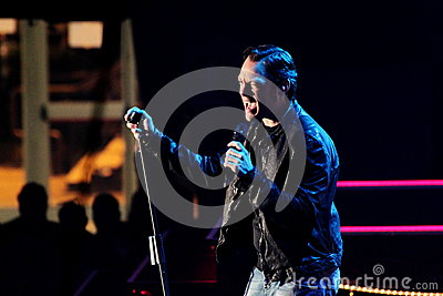 Tiziano Ferro Editorial Stock Photo