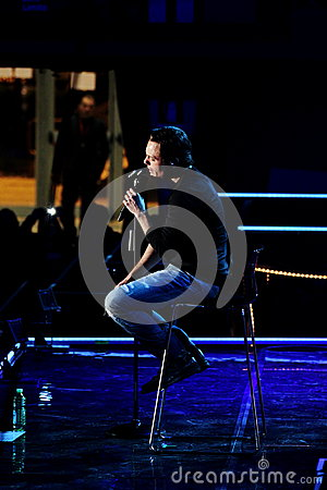 Tiziano Ferro Editorial Stock Image