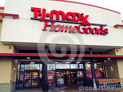 Tj maxx home goods eugene or editorial stock image for Online home goods store