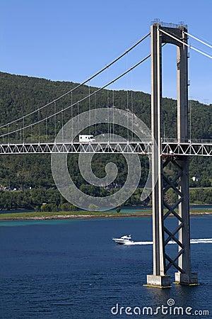Tjerlsund Bridge, Norway