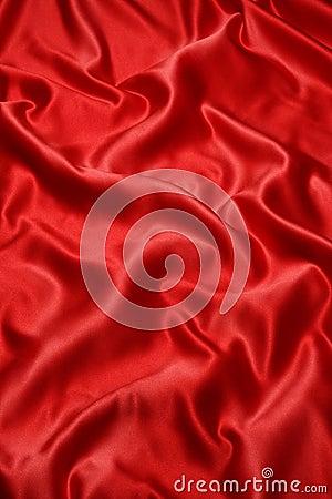 Tkaniny czerwieni atłas