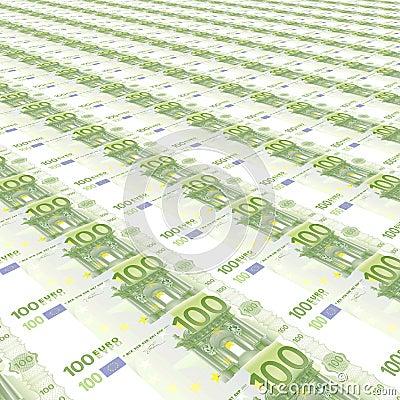 Tło 100 euro