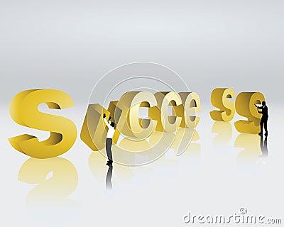 To aim at success