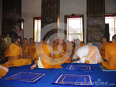 how to become iskcon monk