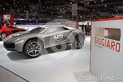 Giugiaro Roadster World Premiere - Geneva Motor Show 2013 Editorial Image
