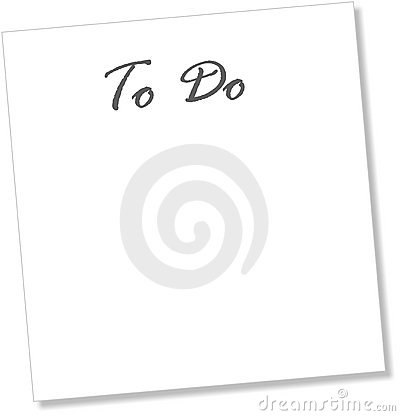 To Do blank