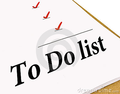 To Do Check List