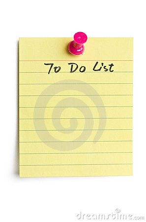 Free To Do List Stock Photo - 13476660