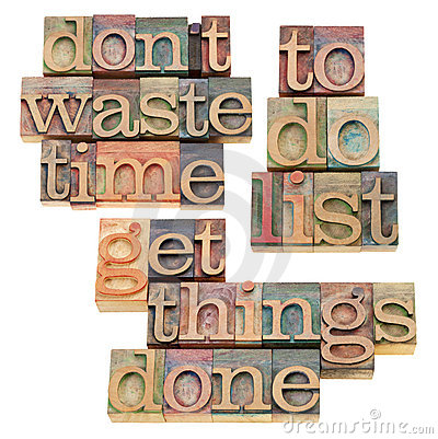 To do list - get things done