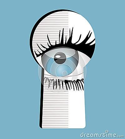 To keep an eye on