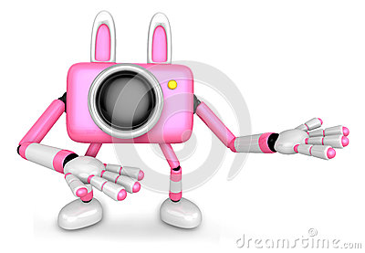 To the Right toward the Pink Camera Character guide you. Create