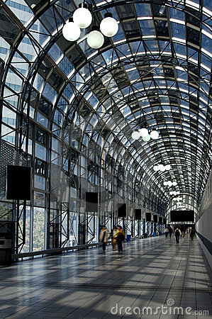 Free To Union Station W/Paths Royalty Free Stock Photo - 114785