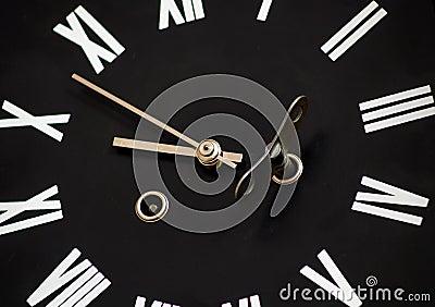 To wind a clock