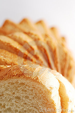 Toast bread tower