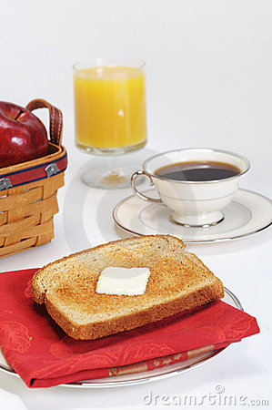 Toast Juice Coffee Breakfast