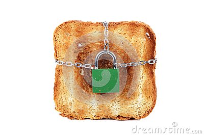 Toast and lock