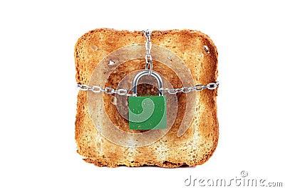 Toast and lock
