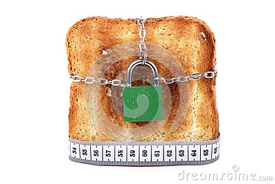 Toast lock and meter