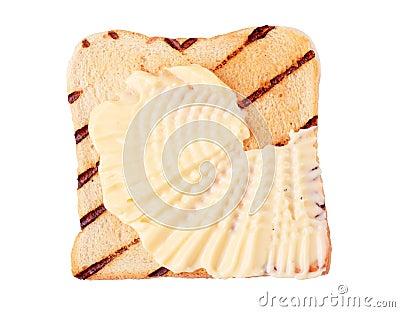 Toast and margarine