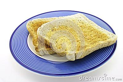 Toast on a Plate