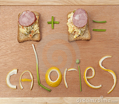 Toast on wooden board