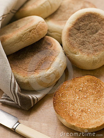 Toasted English Muffins