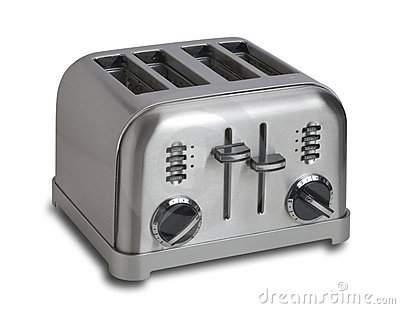 Toaster,isolated