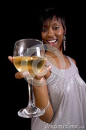 Free Toasting Wine Royalty Free Stock Photos - 7976528