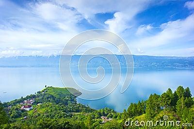 Toba lake village