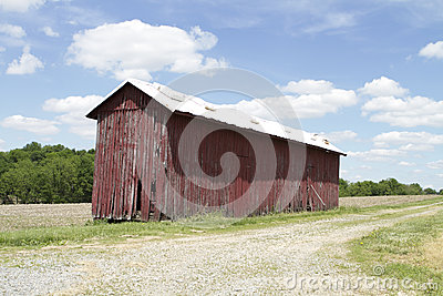 Tobacco barn stock photo image 41035581 for Tobacco barn house plans