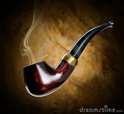 Free Tobacco Pipe Royalty Free Stock Images - 15791009