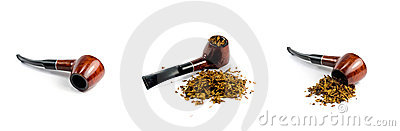 Tobacco-pipe and tobacco
