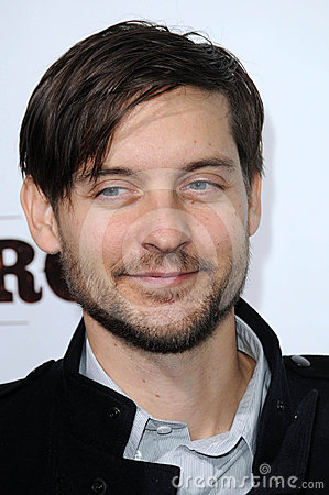 Tobey Maguire Editorial Photo