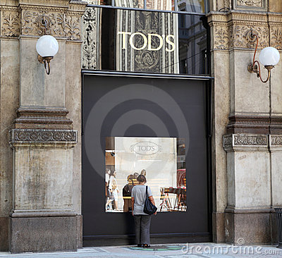 Tod's Store Stock Photography - Image: 21214332