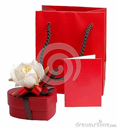 Todavía de la tarjeta del día de San Valentín vida