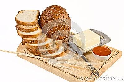 Todavía vida con pan